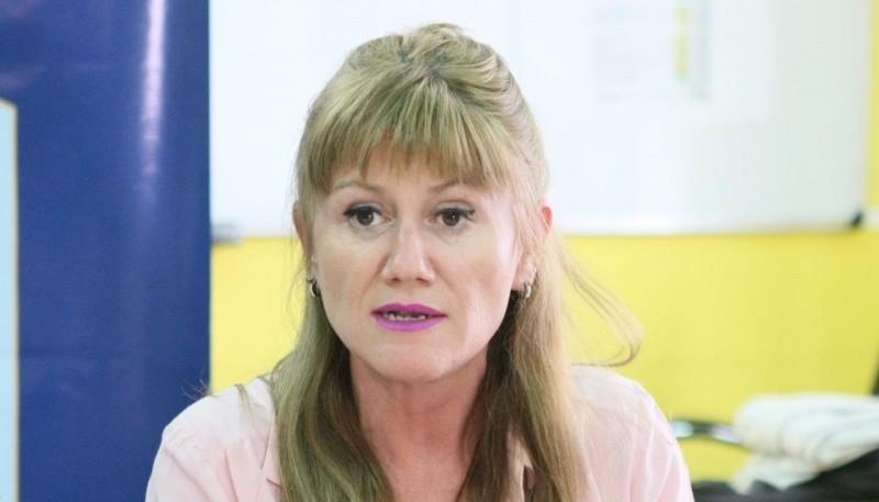 Secretaria de Género, Sirley García.