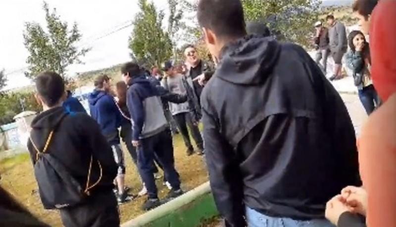 Captura del video que solo dura un minuto 30 segundos.