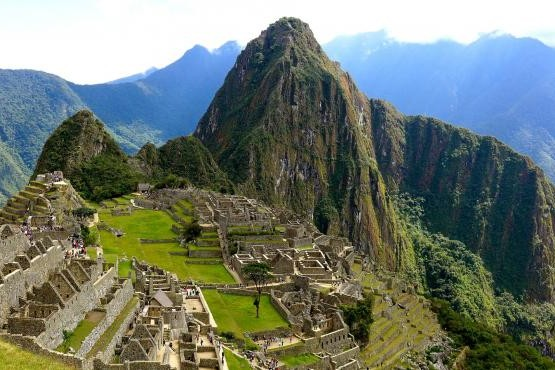 El imponente Machu Pichu en Perú.