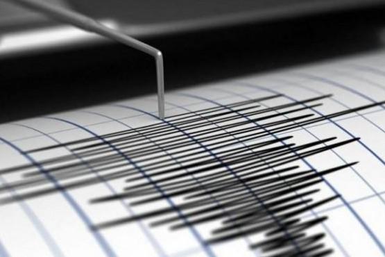 El sismo que se registró este mañana en Mendoza.