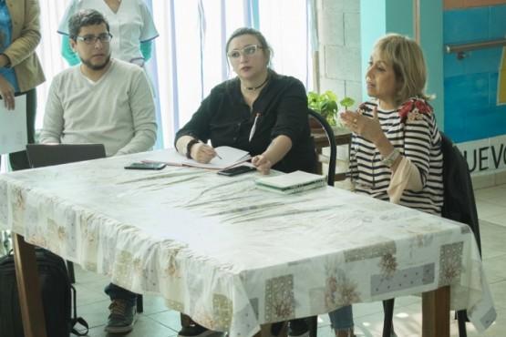 Secretaria de Desarrollo Social, Lic. Elizabeth Pintos.