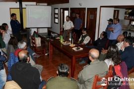 La Facultad de Ingeniería de la UNPL realiza estudio en la Laguna Torre