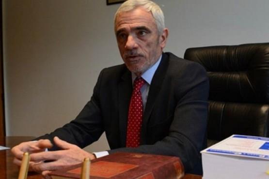 Mario Vivas, presidente del Superior Tribunal de Chubut