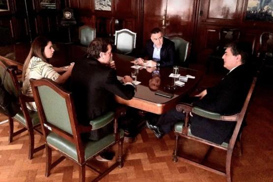 Reunión de funcionarios provinciales con l titular de la Secretaría Energía de Nación.