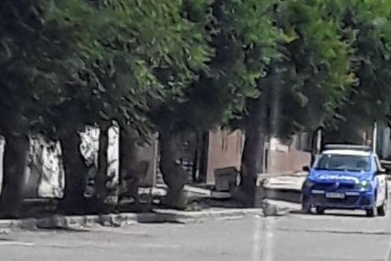 Una de las viviendas allanadas por el personal policial.