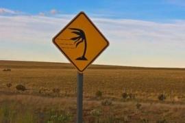 El clima en Santa Cruz: sigue el alerta por vientos en la zona sur de la provincia