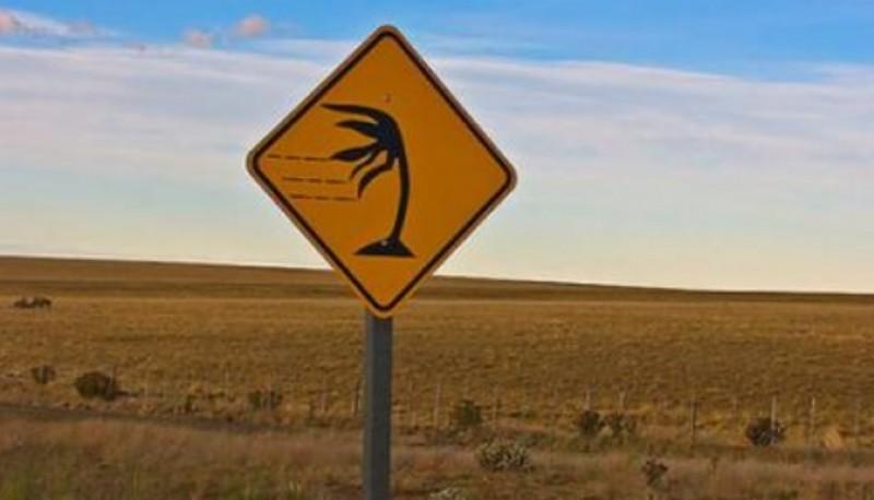 Sigue el alerta por vientos hasta hoy.