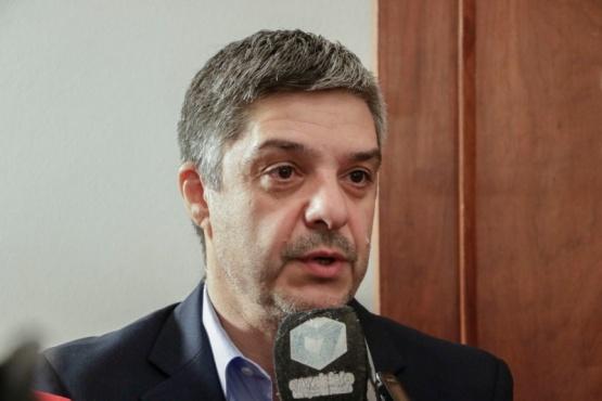 El ministro de Infraestructura, Energía y Planificación de la Provincia, Gustavo Aguilera