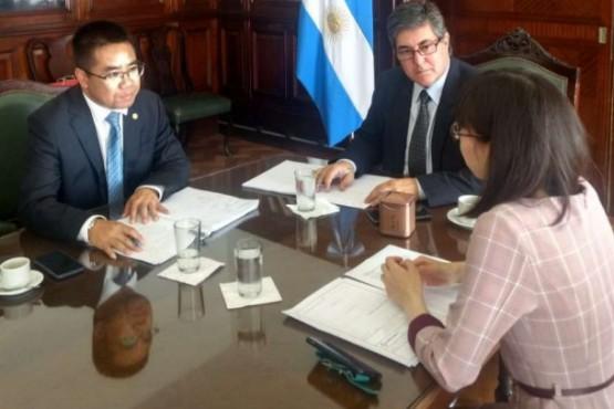 El Secretario de Energía de la Nación recibió al titular del comité ejecutivo de CGGC.