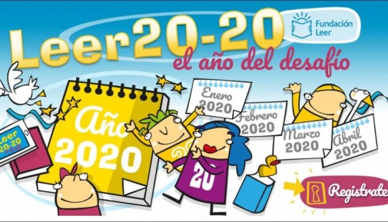 Afiche de la Fundación Leer.