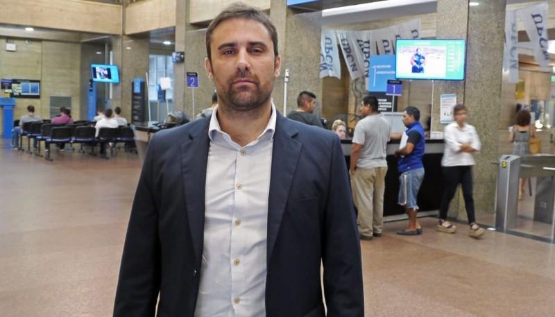 El ministro de Agricultura, Ganadería, Industria y Comercio del Chubut, Leandro Cavaco.