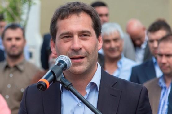 El intendente Juan Pablo Luque.