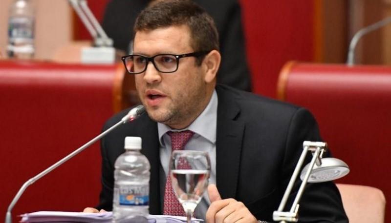 El diputado provincial por Chubut al Frente, Juan Horacio Pais.