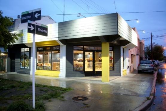 Local comercial que fue blanco de los delincuentes. (Foto: C.G.)