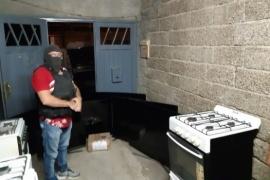 En allanamiento esclarecieron 5 robos: recuperaron 7 televisores