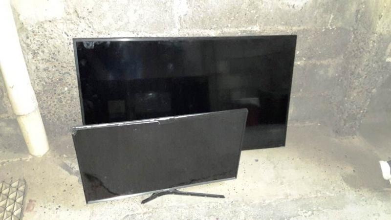 Televisores incautados.