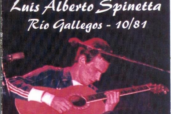 Spinetta en Río Gallegos (Foto compartida por Santa Cruz Mi Corazón).