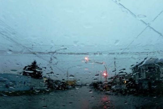Lluvia en la provincia.