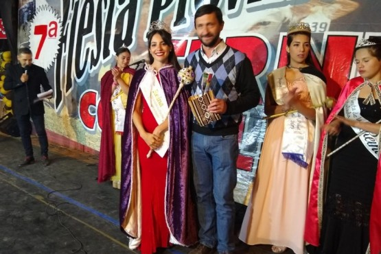 La Reina de la Fiesta del Ternero Cordillerano 2020.