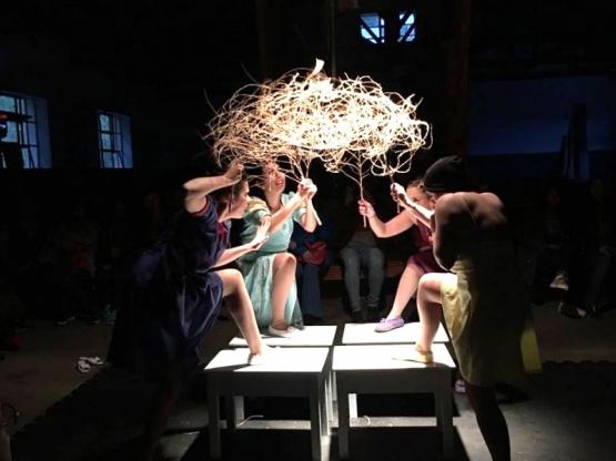Las Lalas fue la obra ganadora en el FES.TE.SA del año pasado. Santa