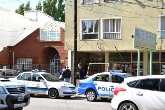 Lugar donde encontraron el cuerpo de Stefanía en la tarde de ayer. (Foto: J.C.C.)