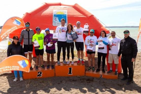 El triatlón tuvo intensa actividad en El Calafate.