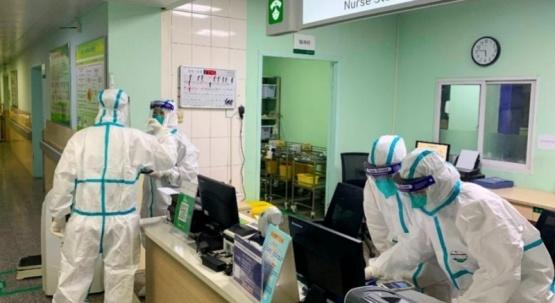 Precauciones sanitarias en China.