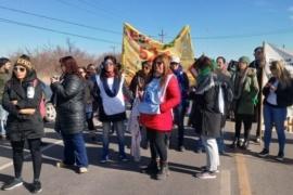 Los estatales de Chubut vuelven a cortar rutas