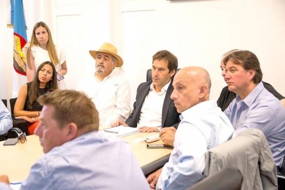Los intendentes asumieron el compromiso de concretar acciones que permitan avanzar en impulsar nuevamente el Comité de Cuencas.
