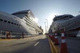 Cerca de 7000 personas llegaron a Puerto Madryn a bordo de dos cruceros