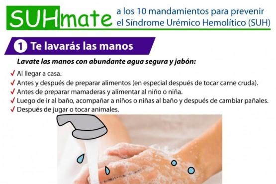 Campaña de Prevención del Síndrome Urémico Hemolítico.