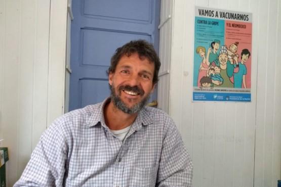 Emiliano Biondo, jefe del departamento de Programas Sanitarios del Área Programática Esquel.