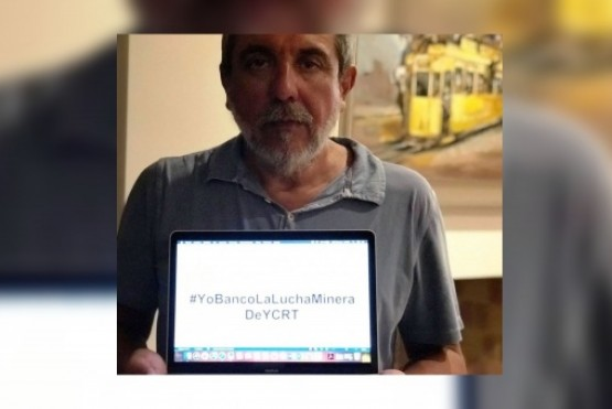 Anibal Fernández, interventor de YCRT.