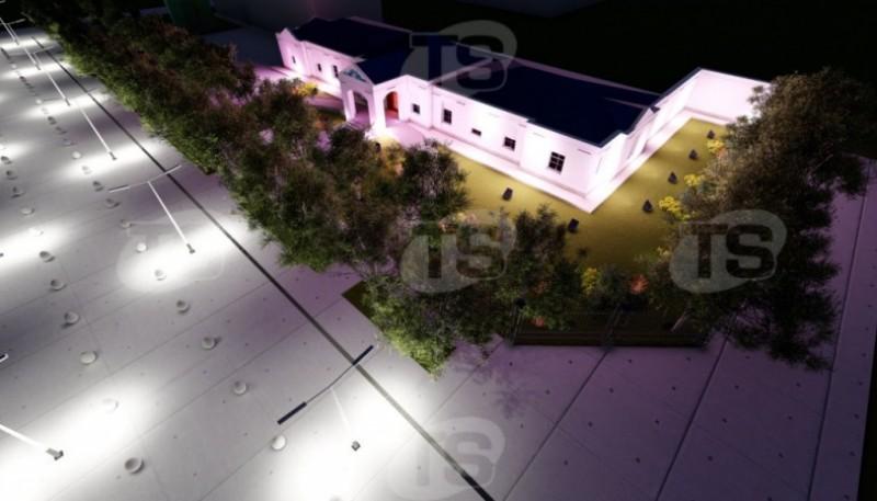 Casa de Gobierno remodelada.