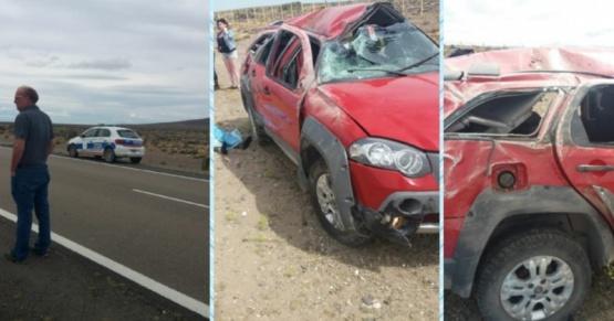 Fatal accidente en Chubut.