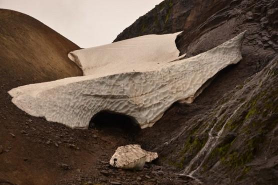 Túnel de hielo.