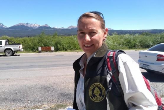 Carolina Juárez, jefa del departamento de Incendios, Comunicaciones y Emergencias
