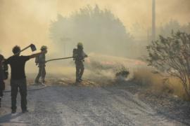 Se controló el incendio en Parque Ecológico El Doradillo