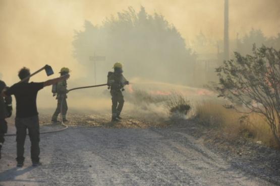 Incendio en El Doradillo.