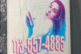 El cartel promocional de Jimena que enfureció las redes