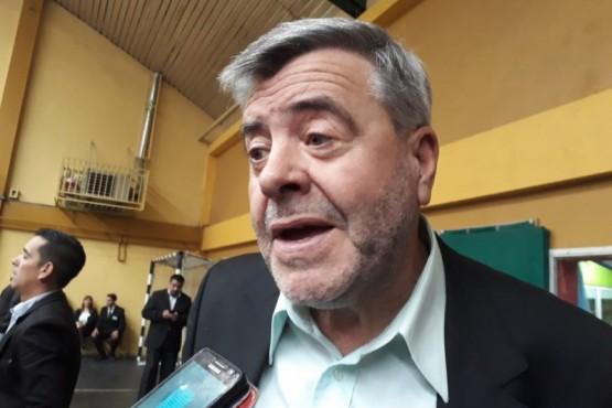 El intendente Osvaldo Maimo.