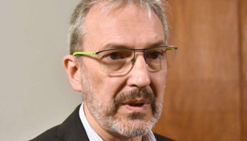 El ministro de Salud de la Provincia, Fabián Puratich.