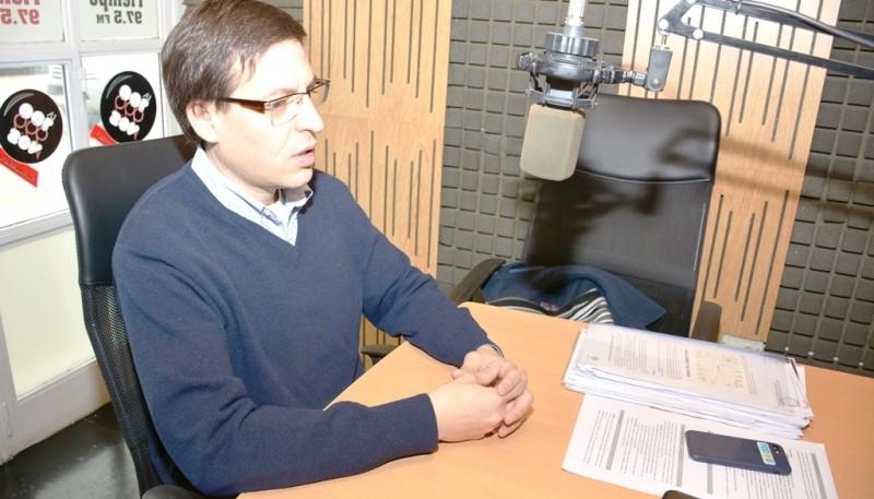 Medvedosvky fue concejal capitalino hasta el 10 de diciembre. (C.G.).