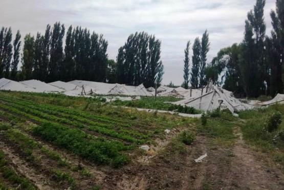 Realizan relevamiento de productores afectados por el temporal