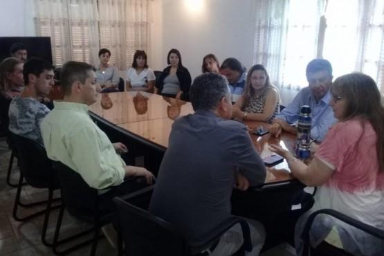 Reunión del diputado nacional, Gustavo Menna.