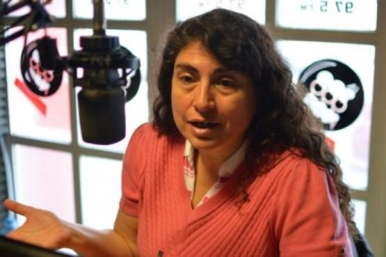 Senadora Nacional por Santa Cruz, Ana Maria Ianni.