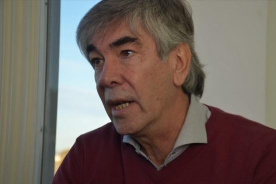 El titular de la Agencia de Desarrollo Productivo y Economía Social de la Municipalidad de Trelew, Hugo Schvemmer.