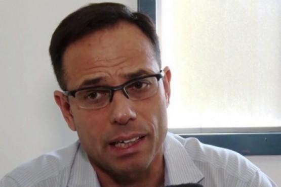 El interventor del SAMIC, Diego Cerrudo.
