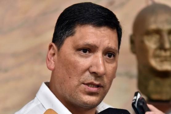 El subsecretario de Asuntos Municipales, Luis Aguilera.