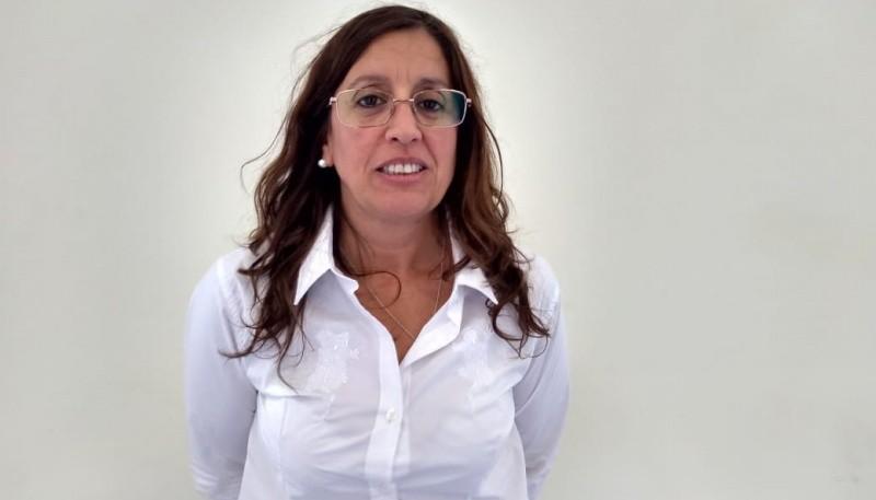 Valeria Tedesco, presidente del Honorable Concejo Deliberante de Trevelin.